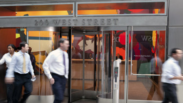 Goldman Sachs workers were greeted with free food and coffee as they returned to work this week.
