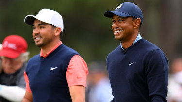 Jason Day has been talking to Tiger Woods about his back injury.