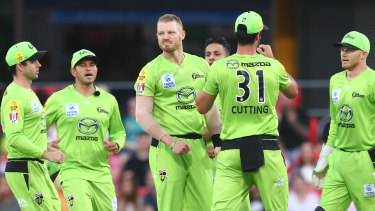 """Big Bash League boss Alistair Dobson says this season's tournament has been one of the best for a """"long, long time""""."""