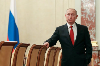 Vladimir Putin also proposed sweeping changes to the constitution.
