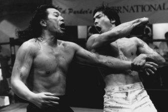 Bruce Lee's name doesn't often come up at AFL media calls.