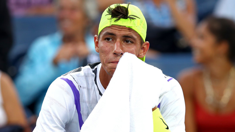 US Open 2019: Alexi Popyrin knocked out of US Open in ...