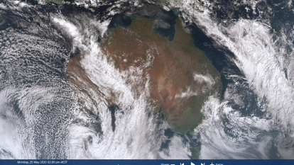 'Atmospheric river' 2000km long wallops Western Australia, heads east