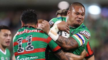 Joey Leilua looks set to join his younger brother Luciano at Wests Tigers this year.