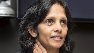 Macqaurie CEO Shemara Wikramanayake says the impact of COVID-19 had been profound.