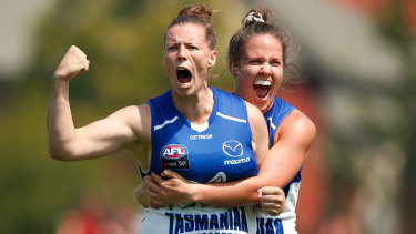 North Melbourne are roaring, but Gordon doesn't believe the AFL made it too easy for them.