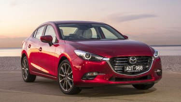 The Mazda3 was Canberra's best-selling car in a slow first quarter for the industry.