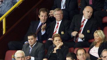 Sir Alex Ferguson and Mike Phelan in 2010.