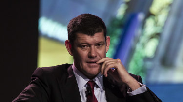 Crown's top executive responsible for the international VIPs told a representative of James Packer (pictured in 2015) about Chinese police questioning a staff member, but not the Crown board.