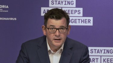 Premier Daniel Andrews has unveiled the state's path out of stage four restrictions.