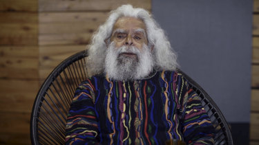"Activist, actor and author Uncle Jack Charles enjoys ""being dusted off and put in front of a microphone""."