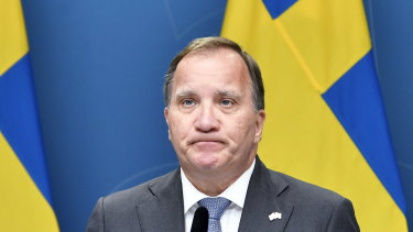 Sweden's Prime Minister Stefan Lofven lost a no-confidence vote in the Swedish Parliament.
