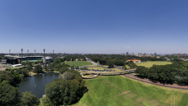 Moore Park in inner Sydney has been a contested space for years.