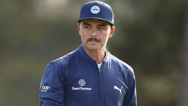 Rickie Fowler missed the cut by one shot, a simple missed put early in his round costing him big time.