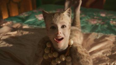 Francesca Hayward is terrific as Victoria in Cats.