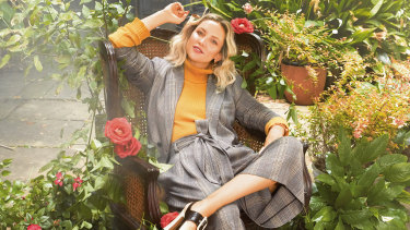 Kate Hudson wears clothing by her new brand Happy x Nature: 'We need to start thinking that simplicity is more beautiful. It's time to start being more responsible.'