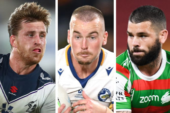 Cameron Munster, Clint Gutherson and Adam Reynolds have all been rested this weekend.