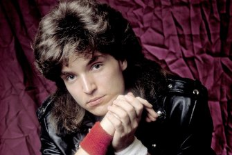 Richard Marx during his big-haired pop balladeer heyday in the 1980s.