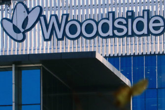 Companies such as Woodside and BHP rose sharply.