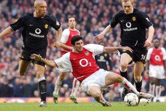 Jose Antonio Reyes playing for Arsenal in 2004.
