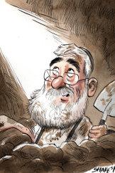 Joe Gutnick. Illustration: John Shakespeare