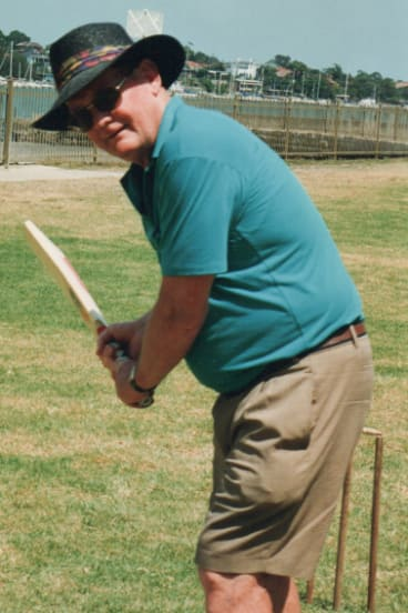 Vincent Connell was always ready to pick up a cricket bat.