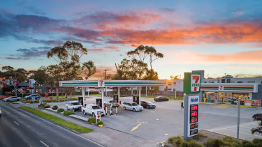 A 7-Eleven site at Mornington, Victoria.