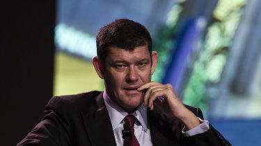 James Packer is said to have been shopping Crown around for months.