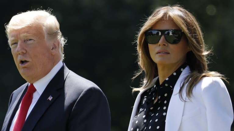 Allegations of US President Donald Trump's infidelities are not a concern to his wife, Melania.