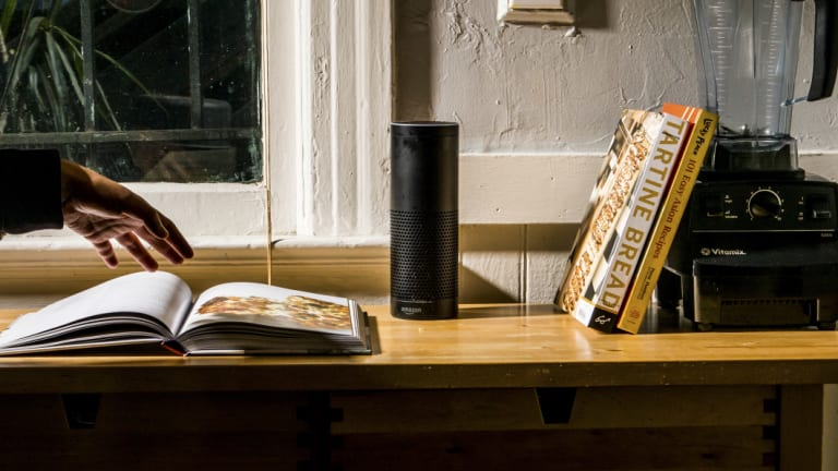 Smartphones and smart speakers that use digital assistants such as Amazon's Alexa or Apple's Siri are set to outnumber people by 2021, according to the research firm Ovum.