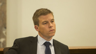Walter-Taylor ward councillor Julian Simmonds farewelled his Brisbane City Council colleagues on Tuesday night.