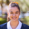 Redlands Sydney scholarship student Chloe Church.