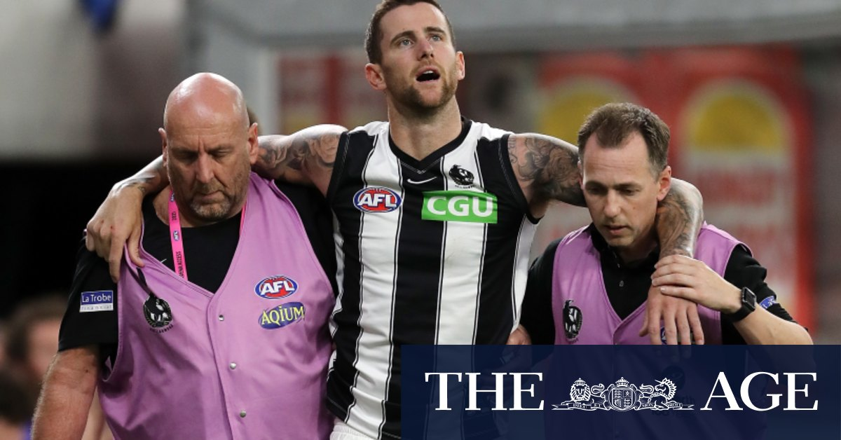 Pies get 'please explain' from AFL over De Goey Howe phone breach – The Age