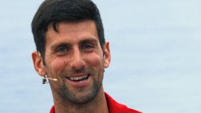 Djokovic starts own tournament as world tennis remains suspended