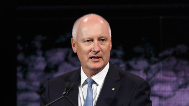 """""""I've never felt like I haven't been able to provide the time and energy to the CEOs, executives and boards of both companies,"""" says Qantas and Woodside chairman Richard Goyder."""