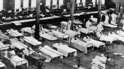 'People died like flies': Spanish flu and the Exhibition Building