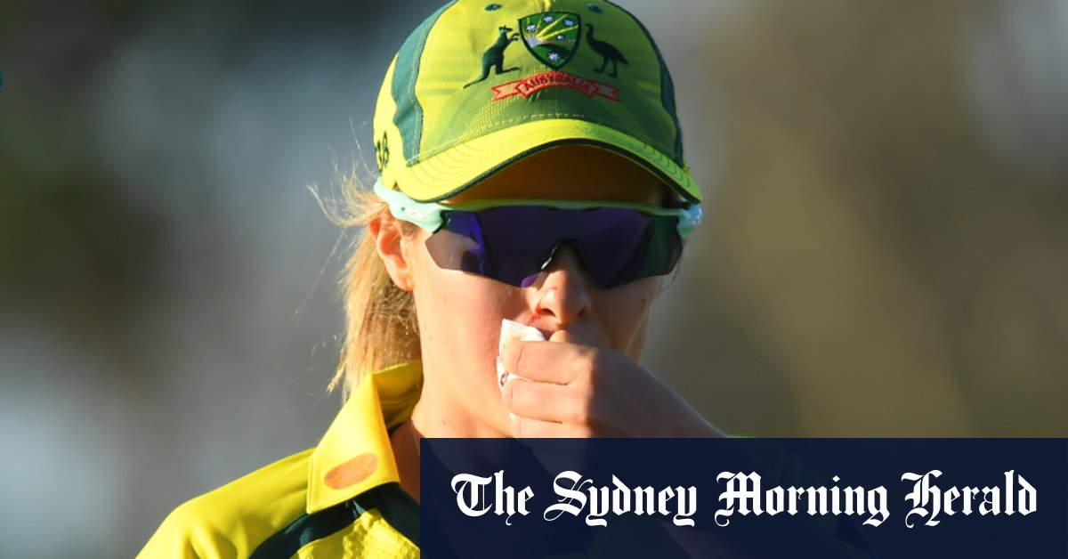 26 and out: India end Australia's ODI win streak – Sydney Morning Herald
