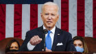 President Joe Biden addresses a joint session of Congress.