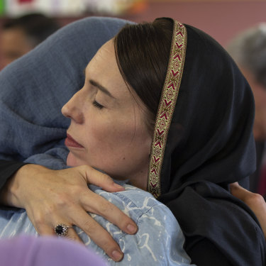 New Zealand Prime Minister Jacinda Ardern was praised internationally for her leadership after the Christchurch terrorist attack.