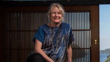 Bundanon Trust chief executive Deborah Ely in a file picture.