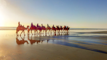 Broome is one of the most frequently booked regional Australian destinations.