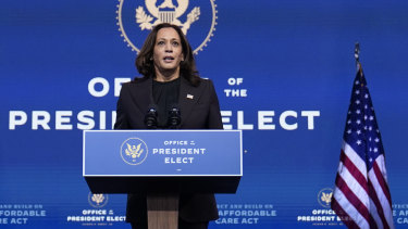 Vice President-elect Kamala Harris speaks - but will Biden be listening?