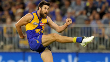 Josh Kennedy was rusty in his return for the Eagles.