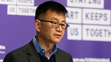 Deputy Chief Health Officer Professor Allen Cheng.