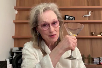 Meryl Streep sang in Take Me to the World: A Sondheim 90th Birthday Celebration.