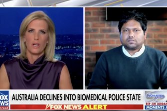 Rukshan Fernando was interviewed on US cable channel Fox News this week.