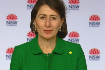 'Scariest period NSW is going through': Premier tests negative for COVID-19