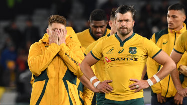 Bledisloe woe: All Blacks piled on the misery.