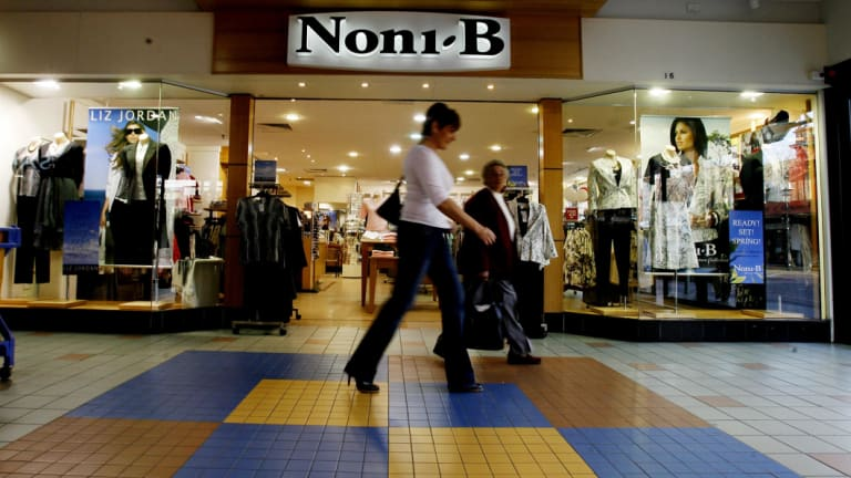 The Noni B Group's comparable sales were up 4.5 per cent in 2018.