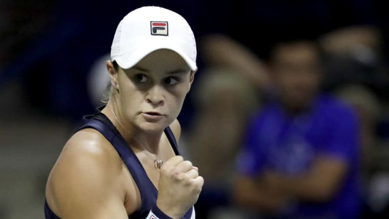 Barty ends the year as Australia's highest-ranked singles player, man or woman.